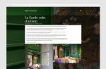 Website Gert Voorjans - Studio Moodsoup - detail pagina project