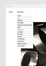 Nadine Wijnants website - Navigatie